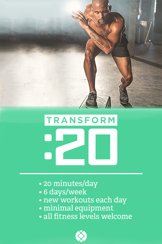 What is Transform :20? Workout Details