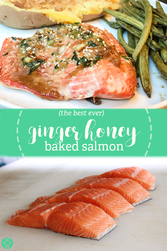 Ginger Honey Salmon Recipe
