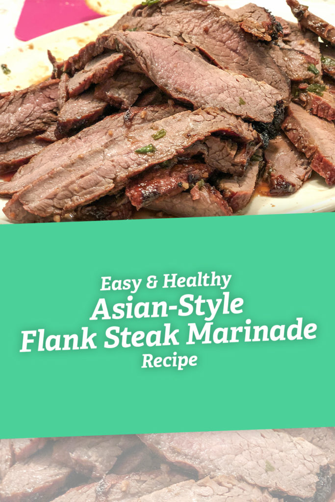 Easy & Healthy Asian-Style Flank Steak Marinade Recipe