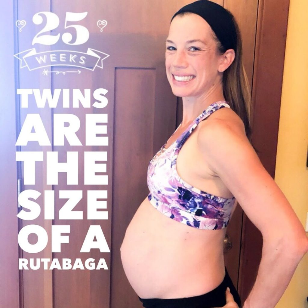 twin pregnancy week 25