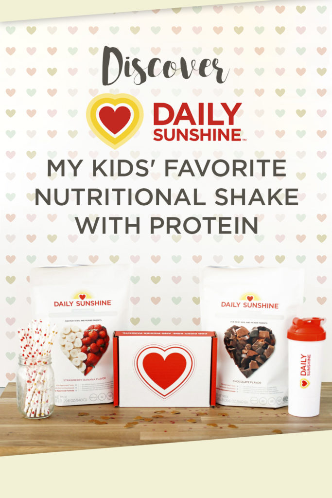Discover Daily Sunshine Kids' Nutrition + Protein Drink