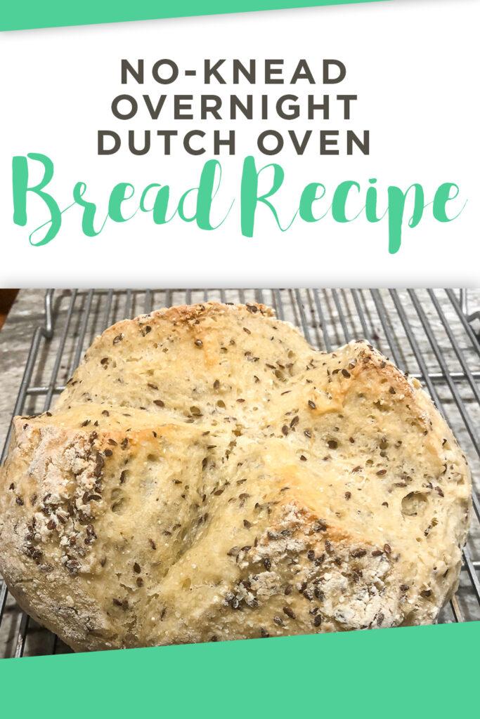 No-Knead Overnight Dutch Oven Bread Recipe