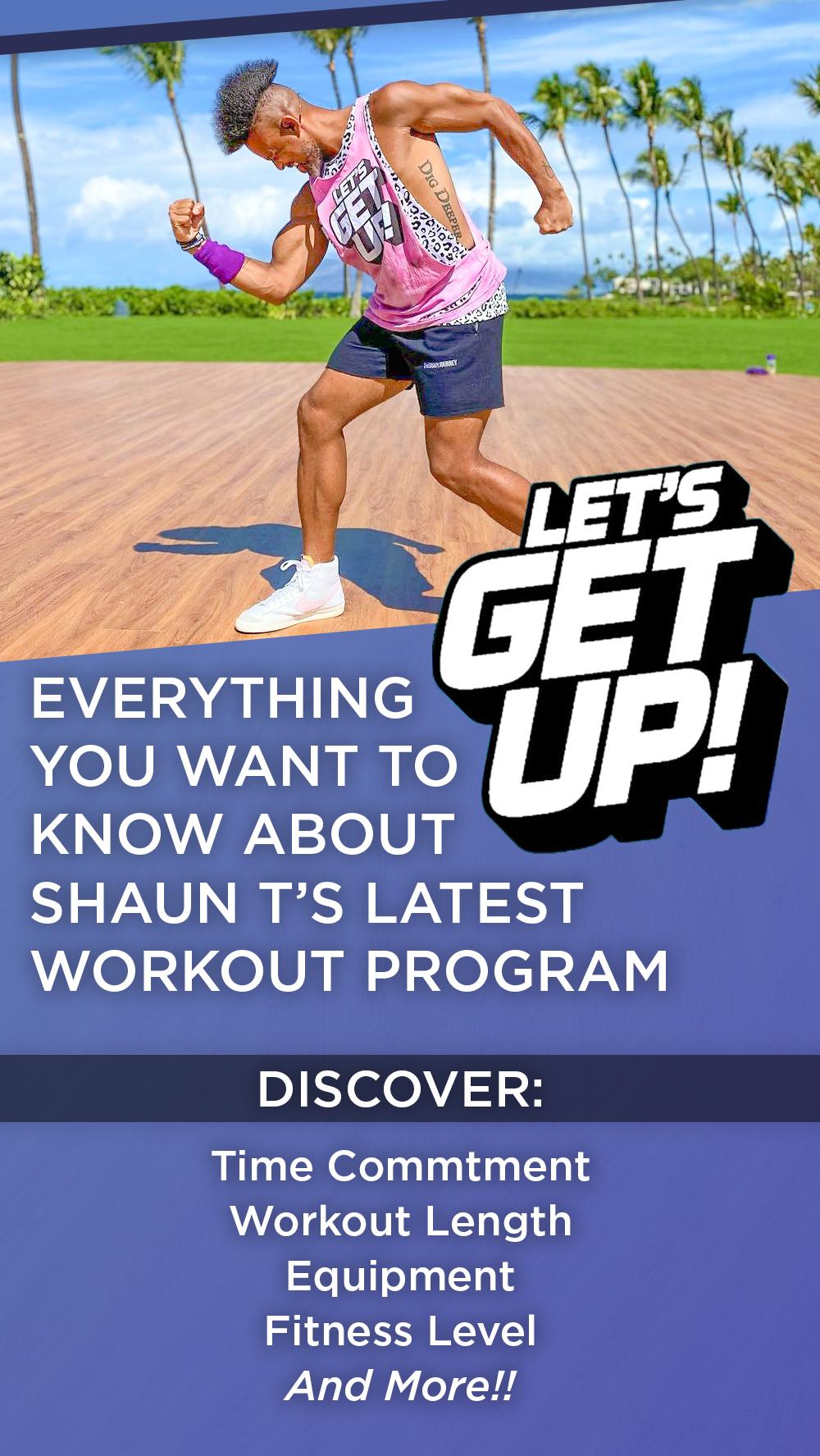 Let's Get Up Workout Details